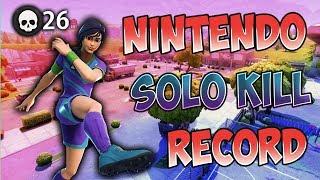 Fortnite Nintendo Switch Solo World Record! (26 Kills) code: Wiikstrom