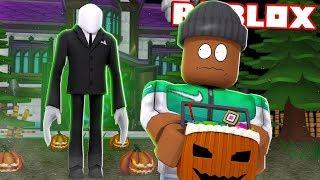 Halloween sur Roblox avec mon ami Quentin