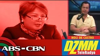 DZMM TeleRadyo: Sandra Cam to 48 lawmakers: You have no power to make me resign