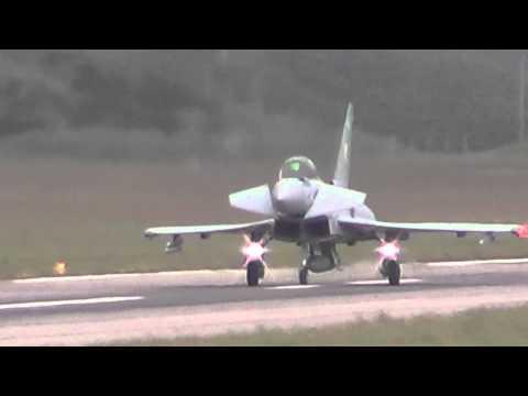 Eurofighter Typhoon on the Fylde coast 2013