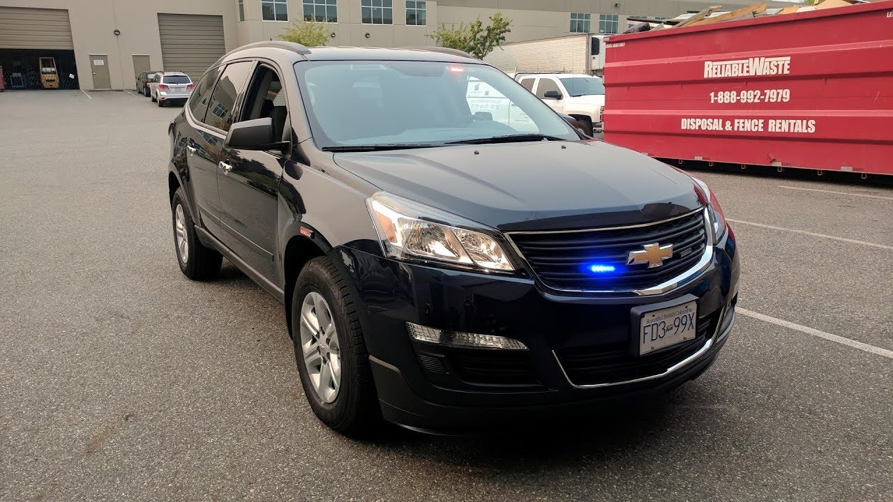 Used Chevy Equinox >> Police low-profile Chev Traverse upfit - YouTube