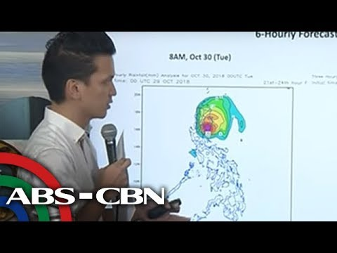 WATCH: PAGASA 5PM briefing on Typhoon Rosita | 29 October 2018