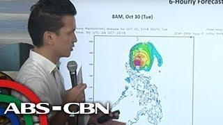 WATCH: PAGASA 5PM briefing on Typhoon Rosita | 29 October 2018