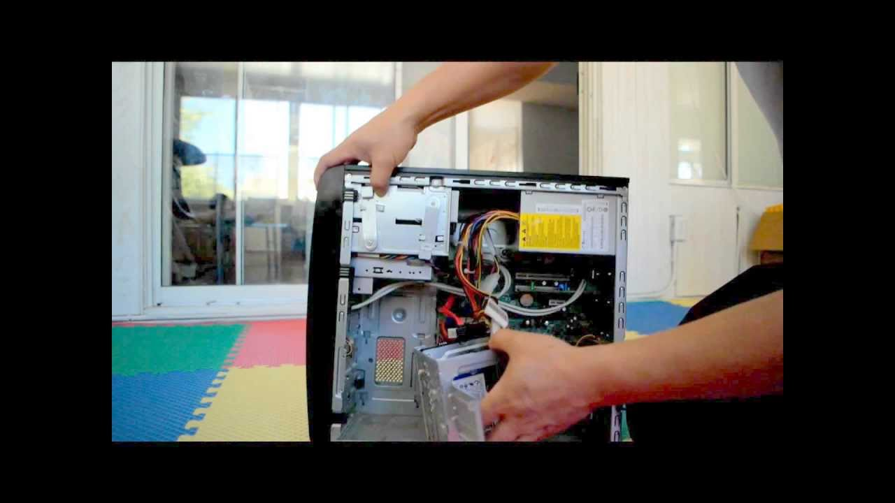 How To Replace HP Desktop Hard Drive
