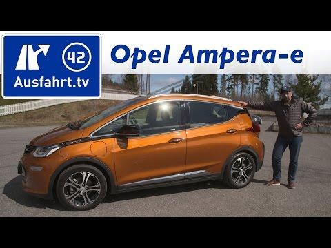 2017 Opel Ampera-e - Fahrbericht der Probefahrt, Test, Review Ausfahrt.tv