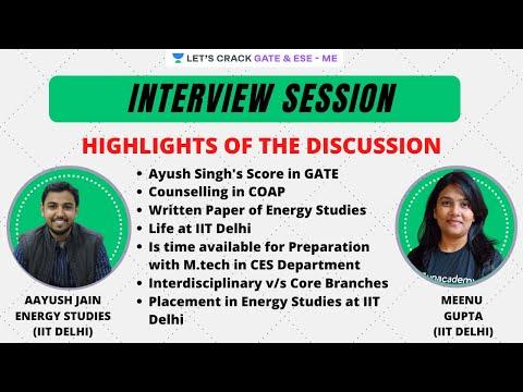 Energy Studies in IIT DELHI (CES) | Placement in corona kaal (PWC) | Meenu Gupta ft. Aayush Jain