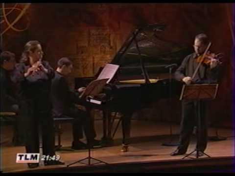 Bach The Musical Offering Trio sonata (3) Radivo, Reville, Robilliard.