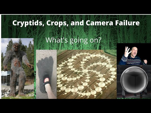 The Bigfoot, Crop Circle, and UFO Connection: Time Anomalies and Weird Effects on Electronics.