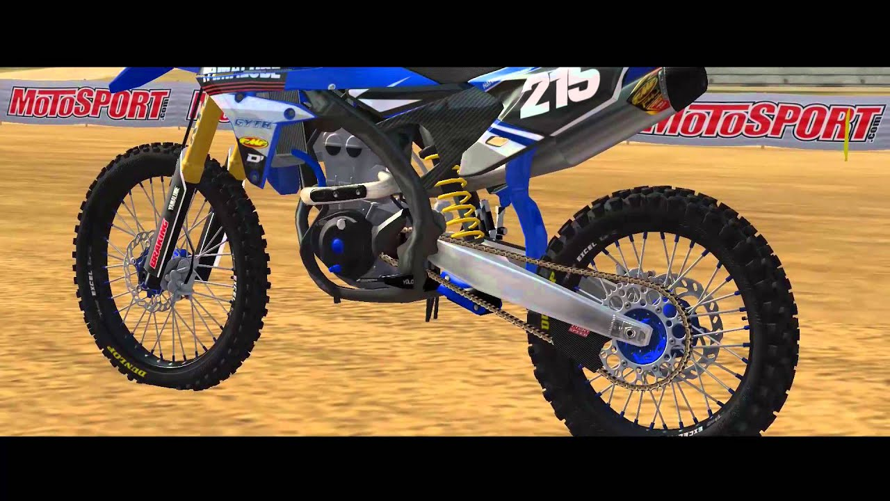 Mx Simulator 2016 Team Star Racing Yamalube Team Bikes Youtube