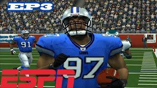 INJURY BUG - ESPN NFL 2K5 LIONS FRANCHISE VS EAGLES S1W3 EP3