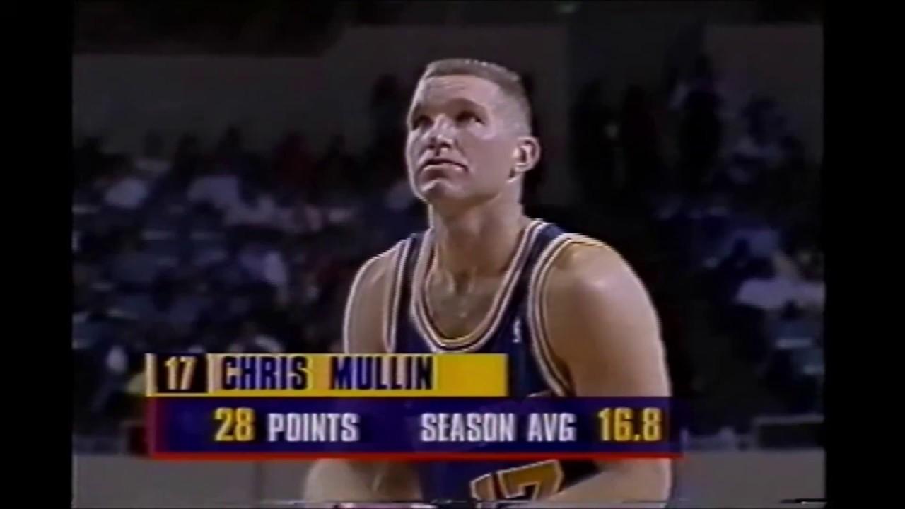 Chris Mullin 32 Points Vs LA Clippers April 18 1994