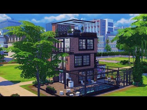 The Sims 4 House Build | Backyard Artist's House