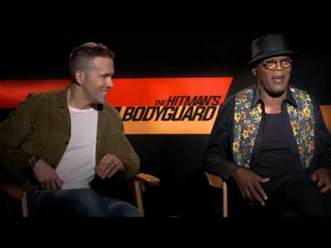 Amsterdam Weed - Ryan Reynolds & Samuel L. Jackson On Filming Next To A Hash Bar
