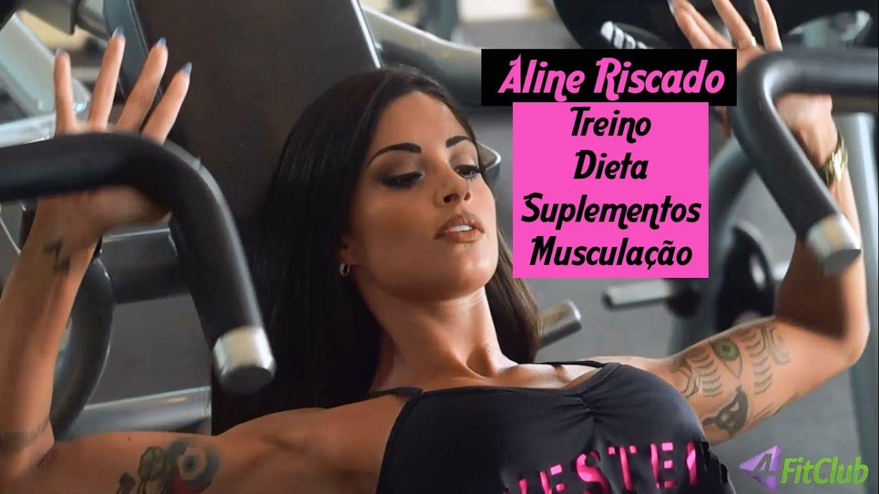 Aline Riscado Playboy aline riscado - treino, dieta, suplementos e musculação