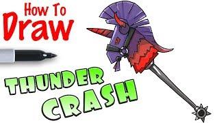 How to Draw Thunder Crash | Fortnite