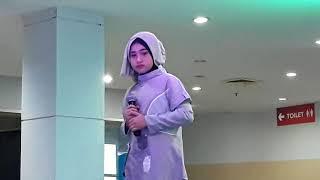 Hijrah Cinta (Rossa) - Feena12.. Lomba lagu religi di Plaza Andalas Padang Mei 2018