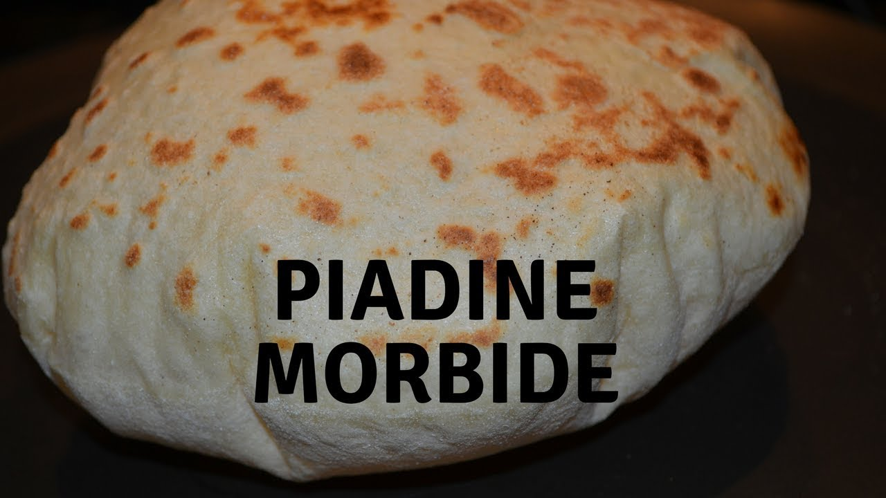 Ricetta Piadina Morbidissima.Piadine Morbide Bimby Youtube