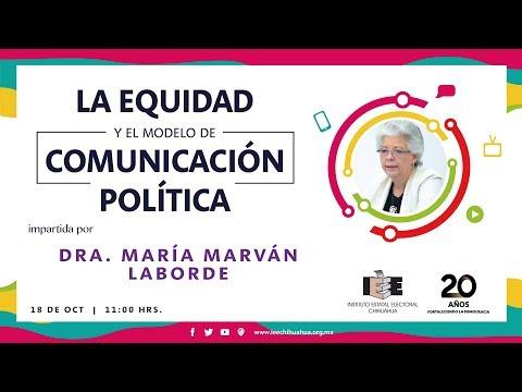 Conferencia: La Equidad y el modelo de Comunicación Política
