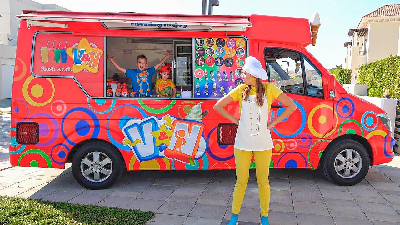 Download Vlad et Niki explorent le camion de crème glacée de la nouvelle maman
