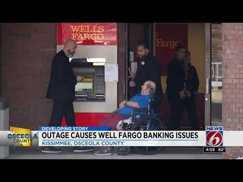Wells Fargo outage affecting ATMs, online app and debit cards