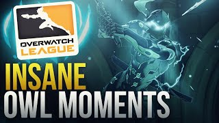 INSANE OVERWATCH LEAGUE MOMENTS - Overwatch Montage