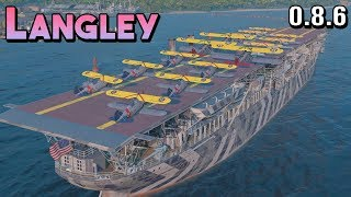 Langley: Cute Planes - World of Warships