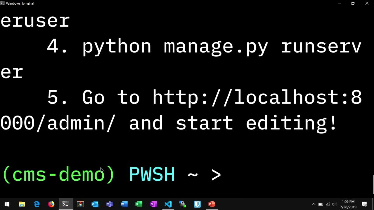 Image from Quickly Build Your Own Personal Website with Python