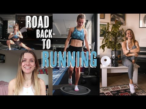GETTING BACK TO RUNNING   Morning routine   Physio exercises