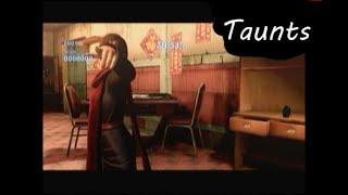 Resident Evil 6 Taunts
