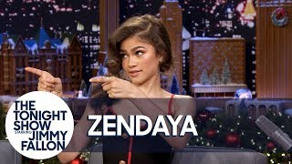 Download Zendaya Shows One of Her and Zac Efron's Trapeze Fails for The Greatest Showman Mp3 and Videos
