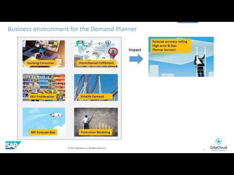 Demand Sensing powered by SAP IBP - GitaCloud Webinar 23rd M