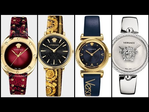 Women's Versace Watches Collection 2019-20/ Leather Strap Watches/Chain Watches Designs