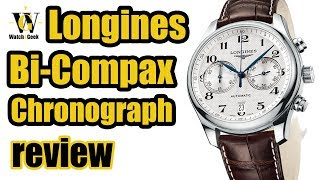 Видео Longines Master Collection Bi-Compax Chronograph - in-depth review (HR & EN captions) (автор: Watch Geek)