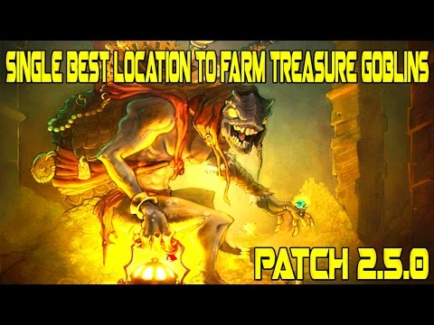 Diablo 3 - Single Best Location To Farm Goblins (PATCH 2.5.0)