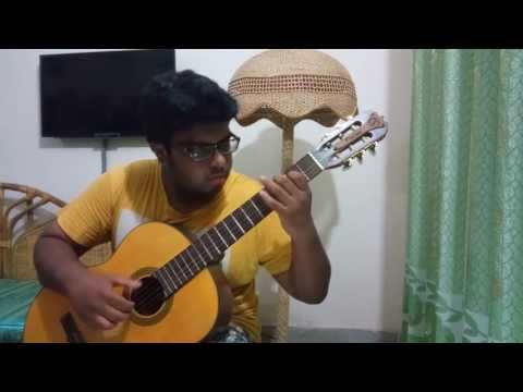 Clair de Lune on classical guitar