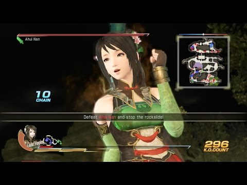 Dynasty Warriors 8: XL CE - Shu Story Mode 11-IF-X - Pacification of Nanzhong (Ultimate)