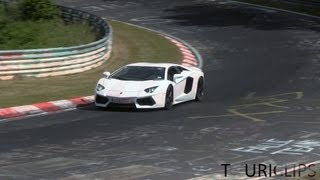 Industry testing on the Nürburgring: new cars, fast driving and spectacular sounds!