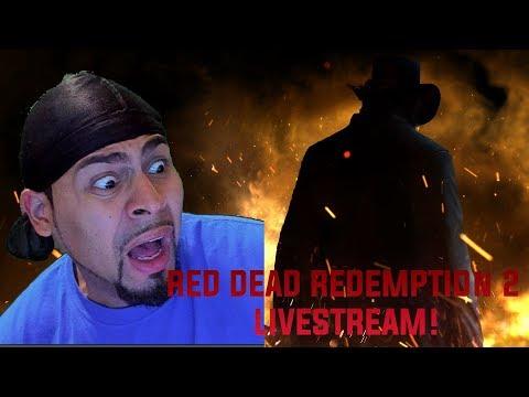 Red Dead Redemption 2 LIVESTREAM / SPONSOR SESSION!