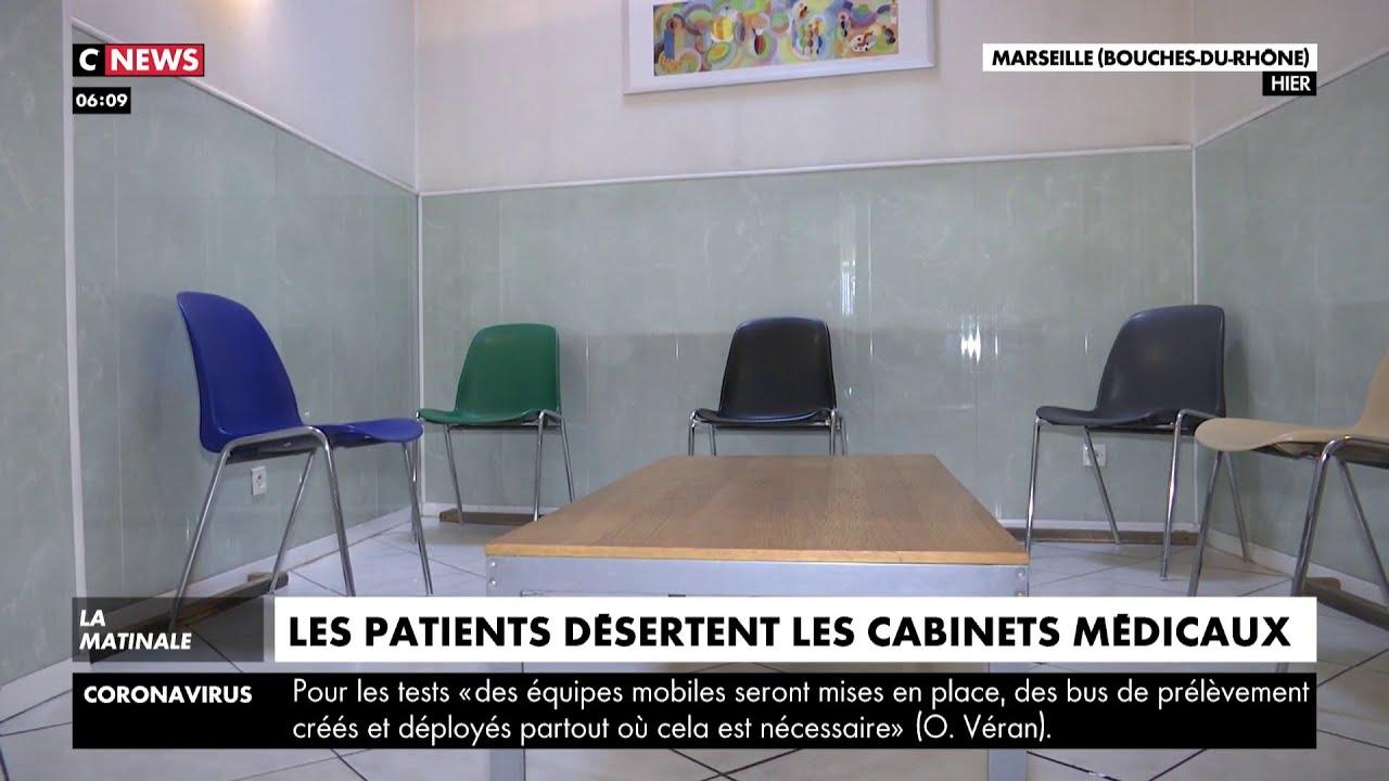 Coronavirus : les patients désertent les cabinets médicaux