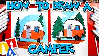How To Draw An RV Camper