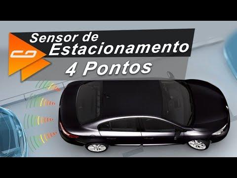 Sensor Estacionamento 4 Pontos Prime | TechOne | Connect Parts