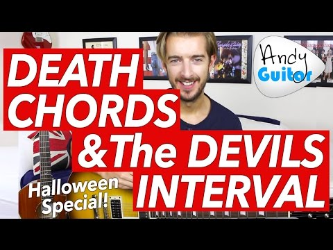 HALLOWEEN SPECIAL - DEATH CHORDS and the DEVILS INTERVAL!