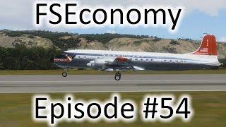 FSX | FSEconomy Ep. #54 - The DC-6B In Hawaii | Douglas DC-6B
