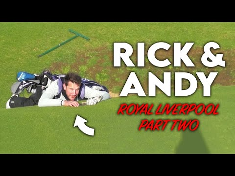 TRY AGAIN NEXT YEAR! Me vs Rick Shiels vs Andy Carter - Royal Liverpool Skins Match - Part Two