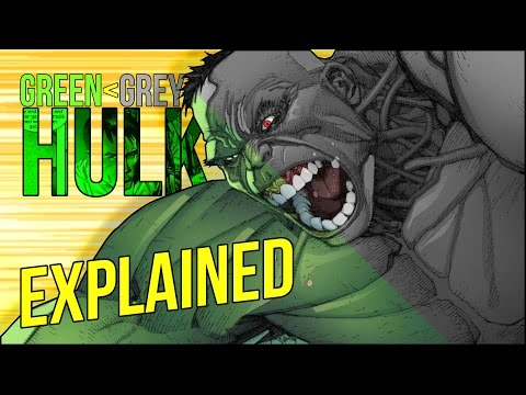 Ultimates: Green Hulk and Grey Hulk Explained