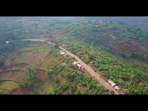 Rural Burundi from the Air