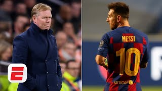 Espn fc's julien laurens and stewart robson react to reports of lionel messi strongly considering leaving barcelona after a 8-2 loss bayern munich in the ...