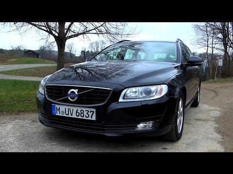 2015 Volvo V70 D4 (181 HP) Test Drive