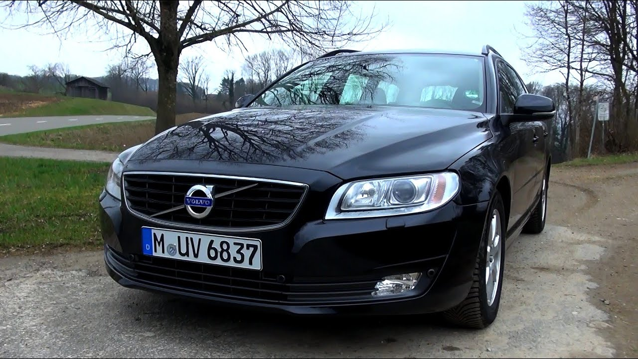 2015 volvo v70 d4 181 hp test drive youtube. Black Bedroom Furniture Sets. Home Design Ideas