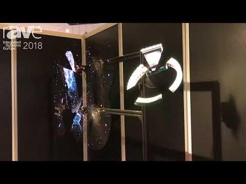 ISE 2018: Hologruf Showcases Innovative 3D Hologram Display Solutions